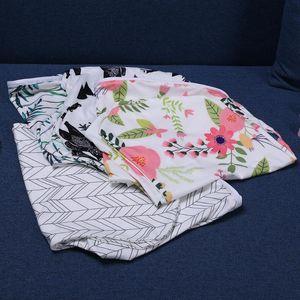 65*25cm U-shaped Pillow Cover Washable Nursing Pillowcase Removable Infant U-shaped Pillowslip Feeding Waist Cushion Cover FCI#