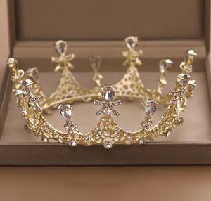 2020 Cristaux de luxe Mariage de la Couronne Argent Or strass Princesse Reine mariage tiare Couronne Accessoires de cheveux de haute qualité à bas prix