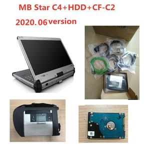 CFC2 CFC2 진단 도구 OBD2 스캐너 MB STAR C4 멀티플렉서 스타 진단 SD 연결 C4 2020.06 전체 소프트웨어