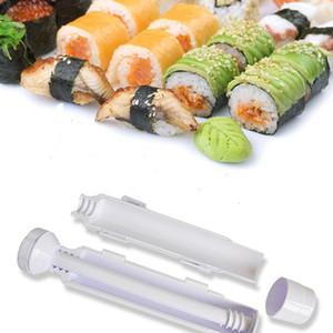 Rouleau Sushi Maker Sushi Rouleau Moule Making Kit Sushi Bazooka Riz Viande Légumes Bricolage Faire Cuisine Outils Roller Cuisiner Outils Bento