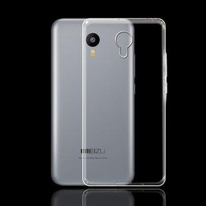 Capa Para Meizu Meizu M2 Nota Limpar macio TPU tampa traseira Capas para Meizu Meilan Mobile Phone silicone protetora Skins Coque
