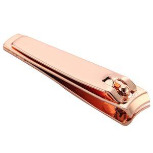 Prego Aço Carbono Professional prego Clippers alta qualidade cortador Rosa de Ouro Scissors Toe Repair dedo Toe Ferramentas dedo