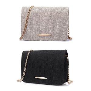 Donne calde di vendita Borsa a tracolla della borsa della borsa della borsa della borsa della mini borsa a tracolla della lino delle signore