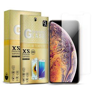 Закаленное стекло для телефонов Metro LG Stylo 5 Google Pixel 3XL протектор экрана для Samsung A10 Achieve J7 Prime iPhone 11 Pro Max XR с коробкой