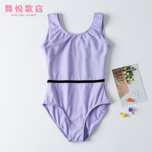 2020New Cotton Tank Children's Ballet Training Dancewear Gymbastic Leotards Dancing