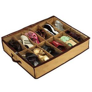 vente et chaussons Shoe Closet Organizer Accueil Salon sous le lit Holder boîte de rangement boîte à chaussures Container Case Storer DLH355