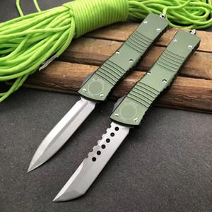 New Micro Combate Dinosaur automática Faca Duplo Ação tática da faca da sobrevivência UT85 UTX85 Hell Hound Tanto Dlade Hunting Pocket Knife Auto