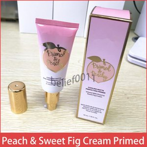 High quality ! new makeup Primed Peachy Cooling Matte Skin Perfecting Primer Primed Infused with Peach & Sweet Fig Cream 40ml ! free DHL !
