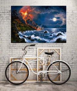 HD Printed Tiere Ölgemälde-Ausgangsdekoration-Wand-Kunst auf Leinwand Forces of Nature Unframed