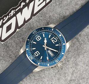 o envio gratuito de moda clássica máquina Limited Edition Automatic LG Ceamic moldura Men Watch Preto / Verde Dial Tafilete Masculino Relógio Montre Homm