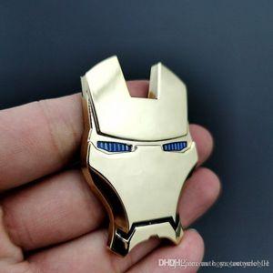 Carro personalizado Metal 3D Iron Man Car Logo adesivos de carro modificado corpo adesivo Cauda Mark