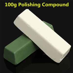 1PC 100g Pasta de pulido / Compuestos de pulido de cera para un acabado de alto brillo en aceros Metales duros Calidad Durale Blanco o verde