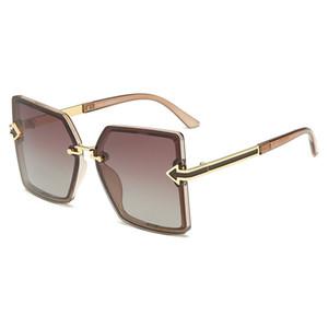 أعلى الرجال والنساء العلامة التجارية مصمم النظارات الشمسية الرجال والنساء الاستقطاب النظارات الشمسية النظارات الشمسية أزياء شخصية السهم نظارات uv400