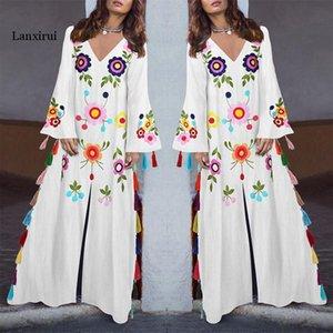 Maiô Cover Up Beachwear For Women Cover-Ups Beach Dress Túnica Verão Saida De Praia Plus Size New Imprimir Neck Bump