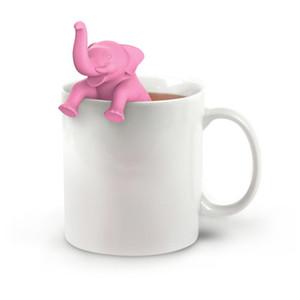 Чай Infuser слон форма силиконовая кружка чашка ситечко для чая трава Spiece фильтр Infuser кофе чай инструменты кухонные принадлежности