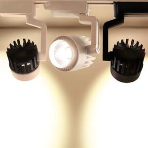 20W 30W COB LED Parça ışık Alüminyum Tavan Tramvay Hattı kolye Mutfak Giyim Mağaza aydınlatması için Spotlight lambasını yakan