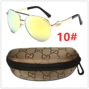 Men's polarized Metal frame sunglasses outdoor driving sports sunglasses fishing beach sunshade sunglasses Gu̴cci women sun glasses