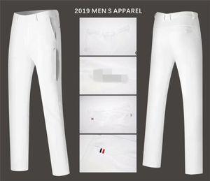 Hommes Pantalons Golf Sports Pantalons tout-automne coréenne Slim Pantalons correspondent longues Vêtements printemps Golf 4 couleurs Hommes Marque