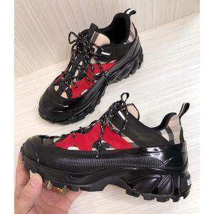 Designer-Schuhe Weinlese-Überprüfungs-Baumwoll Nylon Arthur Turnschuhe poliert Überschuh inspiriert regen Stiefel Luxus Mode Sneaker Männer Frauen Schuhe