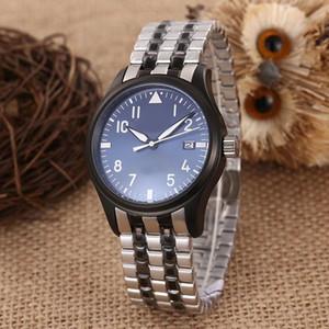 2020 New Style IW Movimento automático 43MM Relógio Masculino Mark XVII inoxidável 316 Banda International Watch