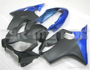 Nuovo stampo ad iniezione in ABS kit di carenature del motociclo Fit per HONDA CBR600RR F4i 2004 2005 2006 2007 CBR600 F4i personalizzata gratuita Blu Nero opaco