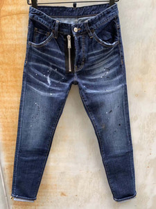 mens designer jeans fashion brand men s jeans true slim washed zipper button fly decorated urban casual pants