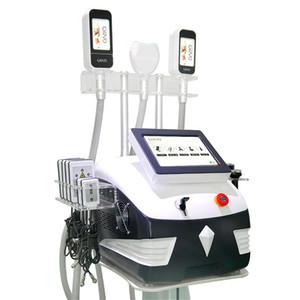 Cryolipolysis corps minceur Machine 360 ° Mini Fat Gel poignée Double Chins traitement 40k Cavitation Rf vide Device