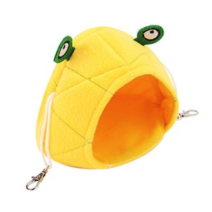 Pineapple Frog Hamster Hanging Bed House Warm Hedgehog Guinea Pig Bed For Small Breed Small Pet Accessories