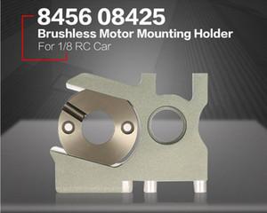 Lega di alluminio Nitro Cambio motore brushless di montaggio Supporto per 1/8 scala Kyosho HSP FS corsa Hobao RC