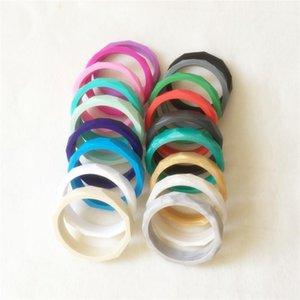 Chenkai 10pcs BPA Free Silikon Bebek emziği Bilezik diş kaşıyıcınız DIY Hemşirelik Bileklik diş kaşıyıcınız Bileklik Takı Moda Oyuncak 18 renk