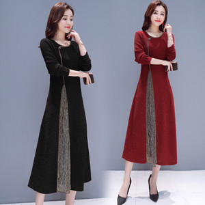 Qipao long élégant vêtements ethniques ethniques robes femmes chinoises modernes cheongsam manches longues Vietnam ao dai style robe Costume Tang robe