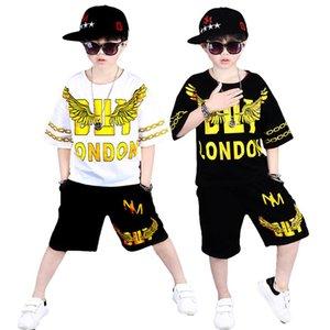 Lolanta 4-16 Years Boys Clothing Set Kids Street Dance Jazz Dance Costume Teens Hip Hop Dancing Wear Childrens Flying Eagle Patt