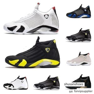 High Quality Men retro 14s low basketball shoes for sale J14 Laney Blue Black Toe White Red Bred AJ14 Jumpman 14 casual sneakers