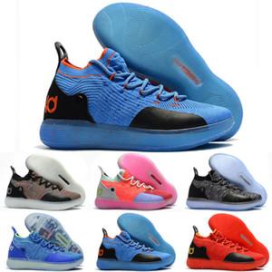 2018 New Kid Women Youth KD XI 11 EP Oreo Muchos colores zapatos de baloncesto Buena calidad Kevin Durant 11s zapatos de baloncesto tamaño EE. UU. 4-12