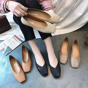 Hot Sale-Women Flats Slip on Flat Shoes Candy Color Woman Boat Shoes Black Loafers Faux Suede Ladies Ballet Flats Zapatos Mujer