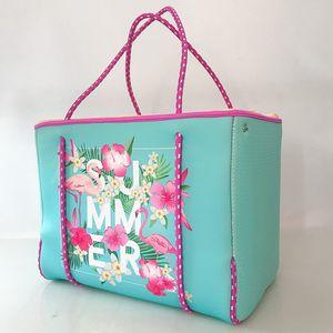 2020 Fashion Yoga Bag Printing Handbag Beach Bag Neoprene Trapeze Tote Messenger Bags Designer Shoulder Women Women Tote Miifq
