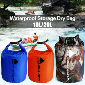 Drifting Bag Swimming Bags Outdoor Rowing Canoe 210T Polyester Taff Sport Durable Waterproof Dry Bag Portable Practical