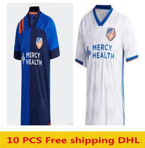 Top quality new 2020 2021 MLS FC Cincinnati soccer jerseys 20 21 GARZA WASTON BERTONE ADI A.CRUZ football shirt jersey Size:S-XXL