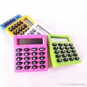 Digitale Calculato 5 Farben Schüler Digital elektronische Mini-Rechner im Freien beweglichen Batterien Taschenrechner Office Home BH1271 TQQ