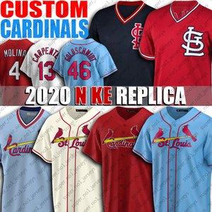 46 Paul Goldschmidt Jersey 4 Yadier Molina jerseys 1 Ozzie Smith cardenal Jersey 25 Dexter Fowler Matt Carpenter Custom jerseys del béisbol
