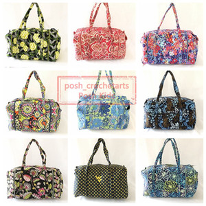 Ink Ladies Neon Large Vintage Mpdd La Duffel Overnight For Retired Bags Sale Patterns Rose Impressionista Blue Du Idxbt