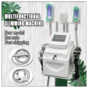 2020 многофункциональное тучное замораживание slim machine cryo therapy fat removal Beauty Equipment cavitazione rf skin затягивая lipo cryo machine