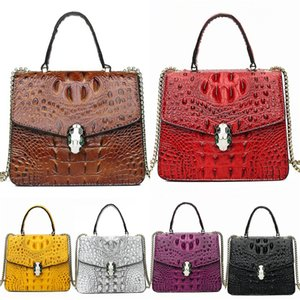 Top Quality! Designer Wallet Crocodile Shoulder Bag Luxury Crossbody Bag Ladies Bag The Belt Series Multicolor Calfskin Dhl Free Shipping#392