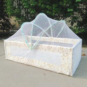 2019 Yeni Cibinlik Katlanabilir Yaz Cibinlik Yatak Netleştirme Katlanabilir Yatak Çadır Anti-Mosquito Canpoy Taşınabilir Netleştirme