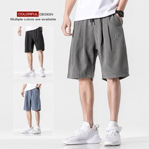 Дизайнерские мужские роскошные повседневные шорты 2020 summer tide brand trend five points комбинезоны мужские дикие свободные спортивные брюки 3 цвета размер M-3xL