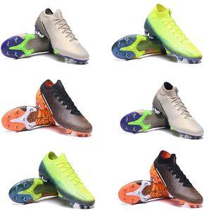 CR7 Büyük Çocuk Gençlik Genç Erkekler Mercurial Superfly 13 VI Elite PLANET Futbol Boots FG Rüya Speede 002 Çocuk Futbol Profilli Ayakkabı