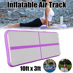 Gimnasia inflable 3M 4M 5M Volteo Airmattress Air Track Piso Trampolín Esteras Regalo de cumpleaños de la niña Yoga / Cojín de entrenamiento