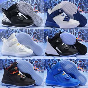 Что Леброн солдат 13 мужская уличная обувь для продажи lebrons xiii MVP Рождество BHM Oreo молодежные кроссовки