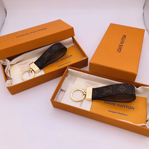 llavero de la marca superior, de acero de titanio de alta calidad caja de llavero de diseño clásico llavero envío libre