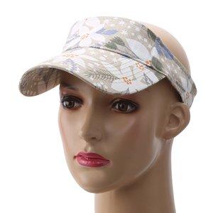Hat Sun Visors Cap Running Hat Summer Outdoor Sport Top Air Caps For Men Women Plain Striped Adults